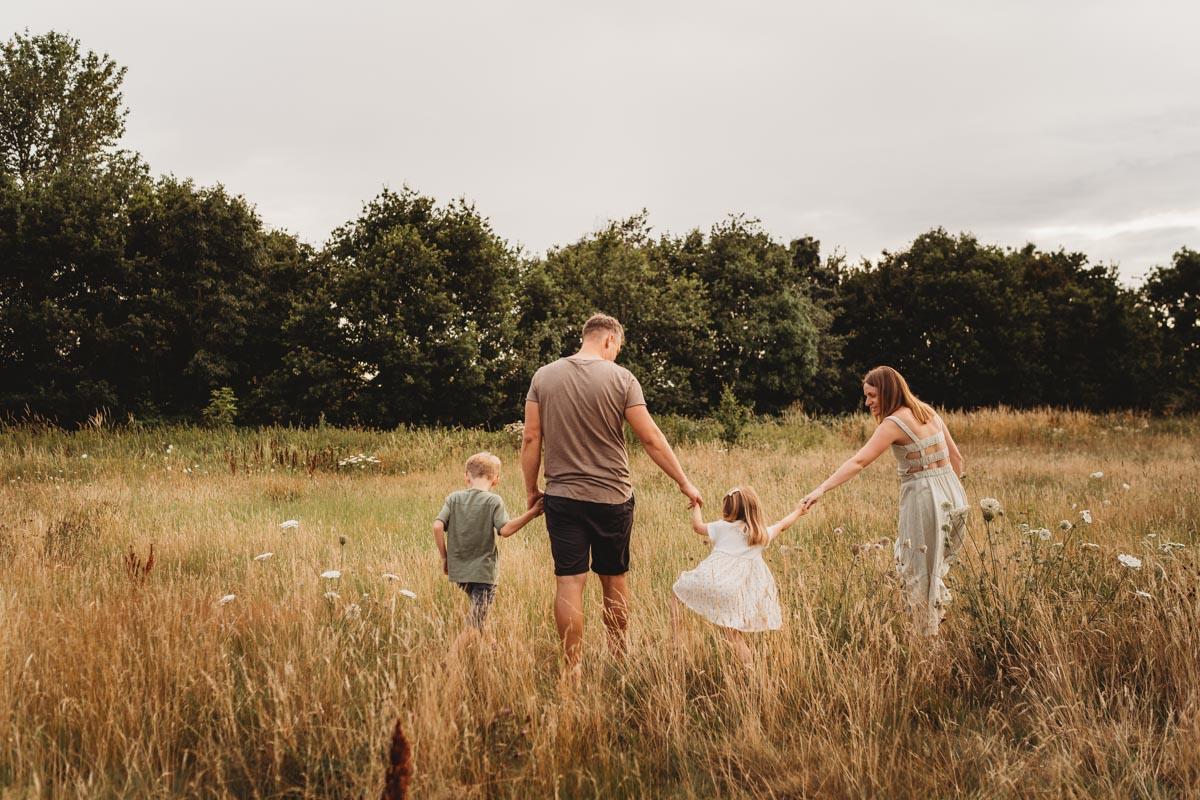 FAMILY -AT SUNSET-SOUTHAMPTON