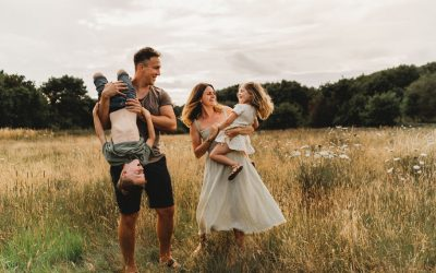 Summer Grasses – A Relaxed Family Photo Shoot, Southampton