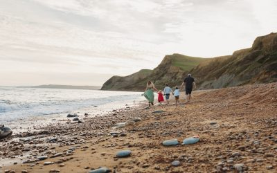 Sunsets, Beaches, Beautiful Families and the most epic session on Eype Beach, Dorset.