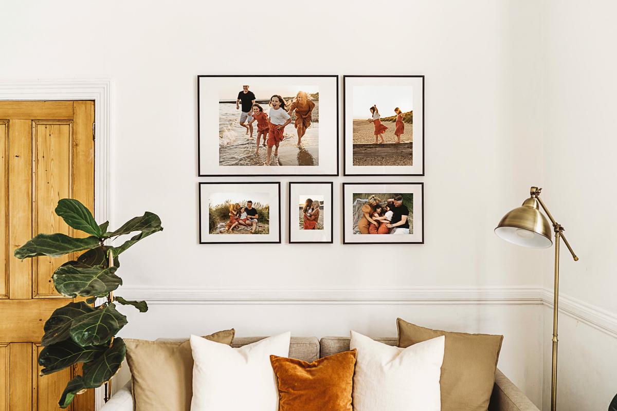 Galley Wall Family Photos- Fern Upgrade - Carley Aplin